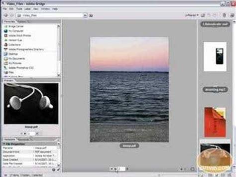youtube layout settings adobe bridge tutorial changing layout settings and views