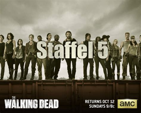 wann kommt staffel 5 the walking dead the walking dead staffel 5 i am