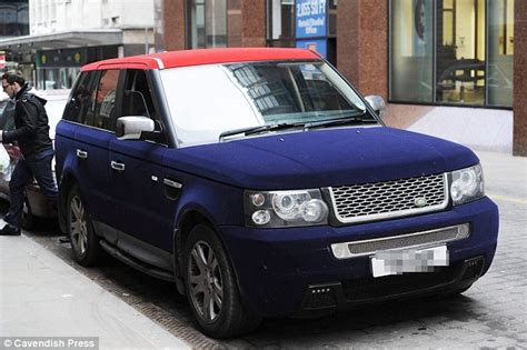 velvet car khloe is this two tone velvet land rover britain s most vulgar