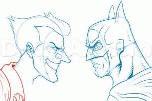 How To Draw Batman How To Draw Batman And The Joker Step By Step Dc Comics