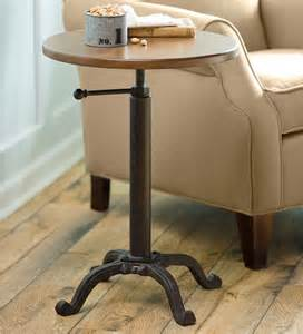side table height adjustable height side table accent tables