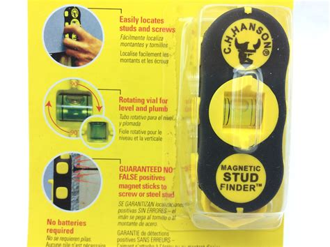 ch hanson 03040 magnetic stud finder no batteries required