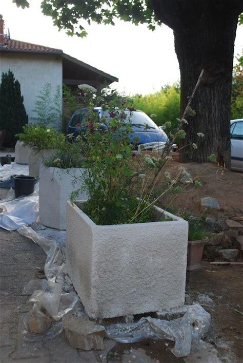 Fabriquer Pot De Fleur En Ciment by Solution 233 Conologique Pour Gros Pots De Fleurs En Ciment
