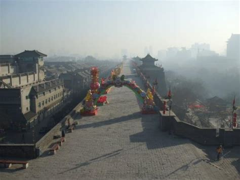 xian china new year celebrating new year of the ox xian city walls