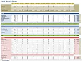 Monthly Budget Plan Template by Free Monthly Budget Templates Smartsheet
