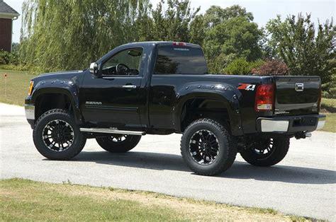 Two Door Trucks by Black 2 Door Silverado Z71 Chevy Mud