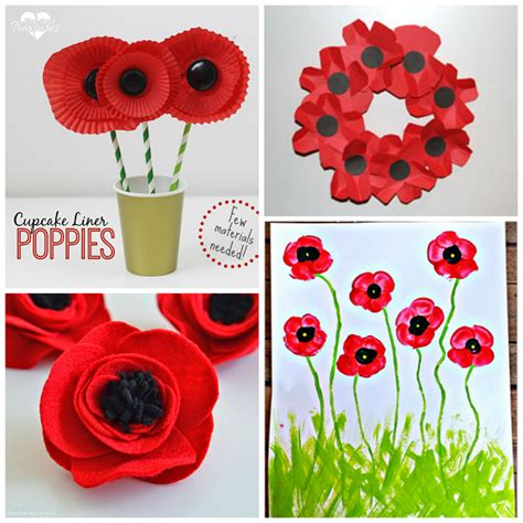 Beautiful Poppy Crafts For To Make Crafty Morning