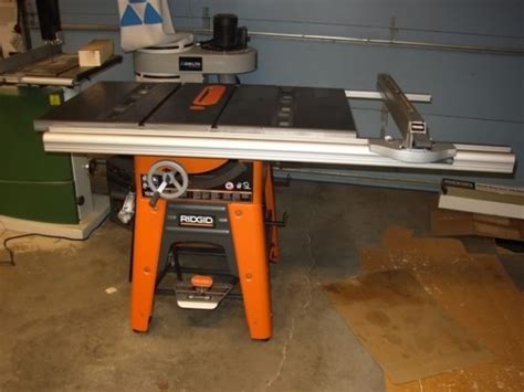 Ridgid Table Saw Ts3650 by Ridgid 10 Quot Table Saw Diy Projects To Try