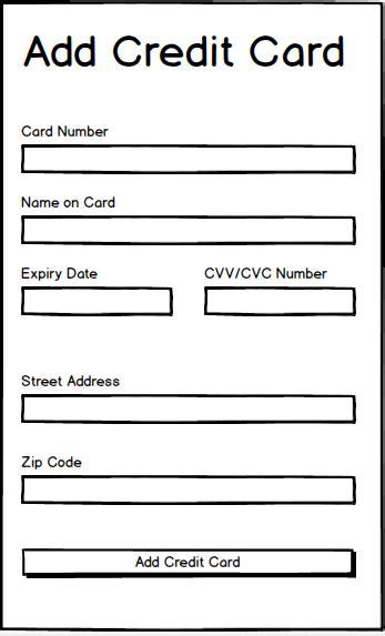 addresses   street address  zip fields  credit card form  meet avs user