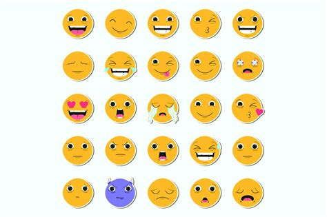 emoji icon 20 best emoji icons to show emotions in your design