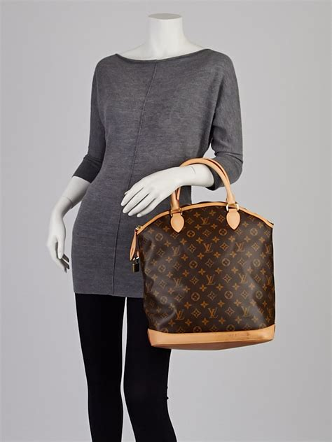 louis vuitton monogram canvas lockit vertical bag yoogi