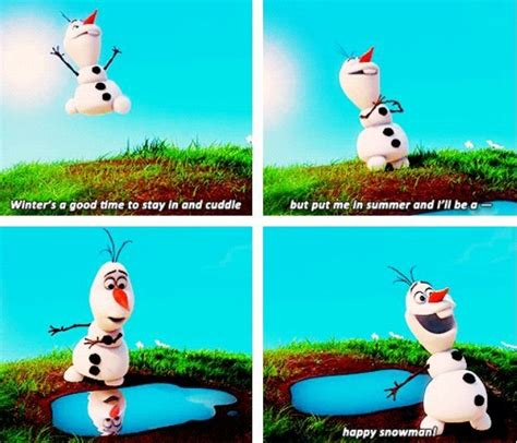 frozen olaf the snowman disney character face olaf the snowman quotes funny quotesgram