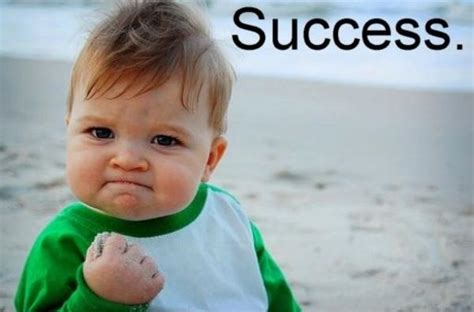 Success Meme Baby - good guy baby thumbs up photo rules the internet