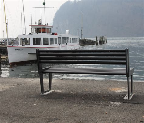 city bench city bench type v with backrest exterior benches from
