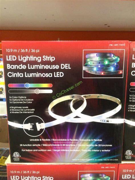 costco indoor outdoor lights design solutions 3 pack 12 foot tape light costcochaser