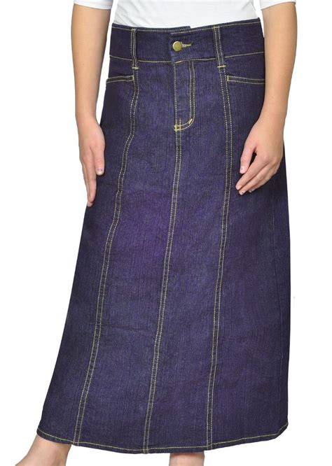 3034 Tile Longskirt 17 best images about dynamic denim on sweatshirt dress blue tiles and skirts