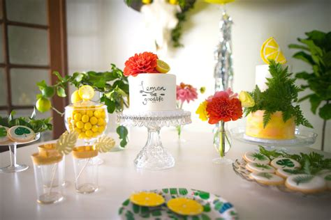summer party ideas citrus themed kara s party ideas quot lemon the good life quot birthday party