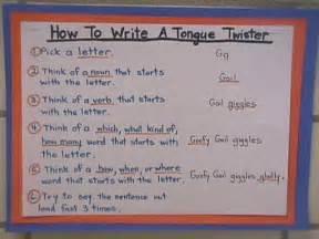 how to write a tongue twister interim tongue twisters
