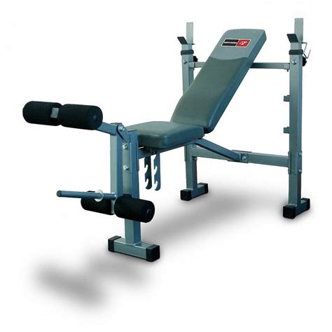 basic weight bench bodyworx c340stb basic bench with adjustable posts leg
