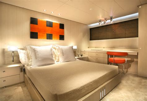 yacht bedroom the luxurious red dragon yacht