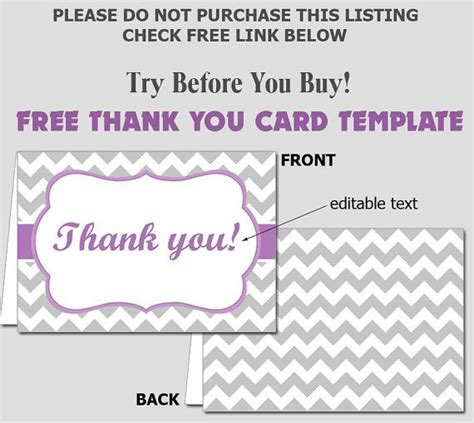 thank you certificate templates for word free folded thank you card template diy editable