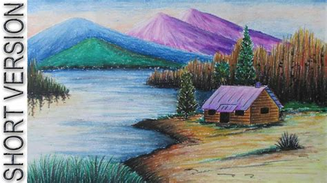 draw landscapes in colored pencil the ultimate step by step guide books landscape drawing with colored pencils easy