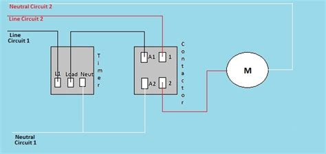 photocell controlled lighting contactor wiring diagram