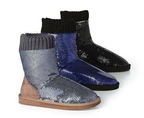 secret boot slippers s secret pink mukluk bling faux fur bootie boots