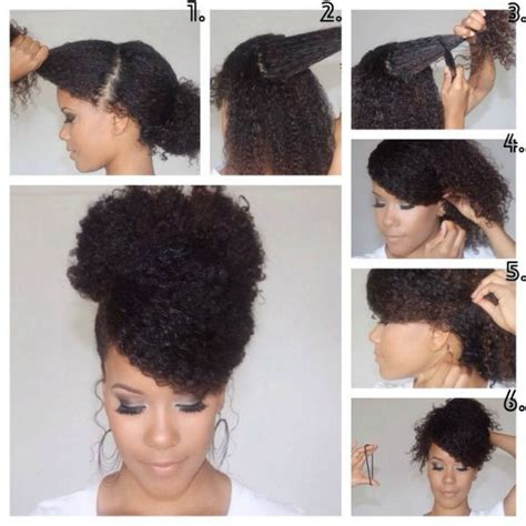 hair style for a nine ye 20 romantic natural hairstyles pinkchocolatebreak com