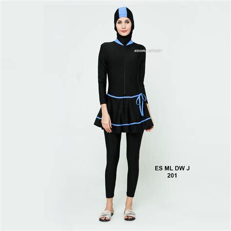 Baju Renang Muslim Dewasa Perempuan Jumbo 5l 6l Salur busana renang muslimah es ml dw j 201 distributor dan