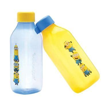 Tupperware Minion Totem Eco Bottle Square 500ml 2pcs Botol Minum jual botol minum tupperware terbaru harga menarik blibli