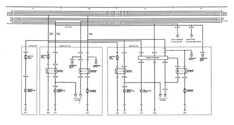 acura integra 1991 1992 wiring diagrams cooling