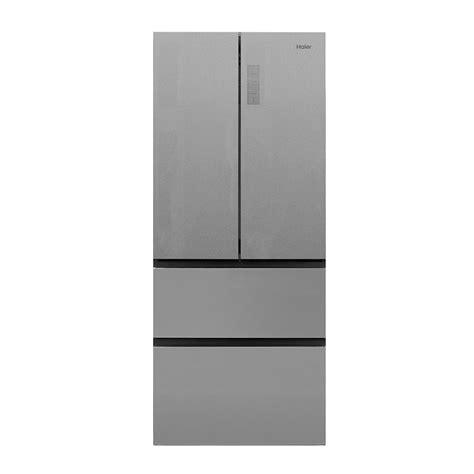Haier Glass Door Mini Fridge Haier 28 In W 15 0 Cu Ft Door Refrigerator In Glass Hrf15n3bgf The Home Depot