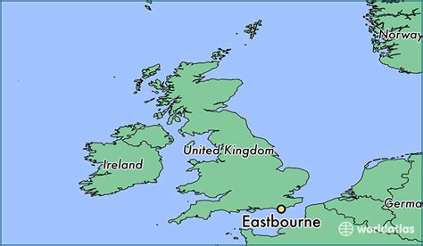 where is eastbourne eastbourne map