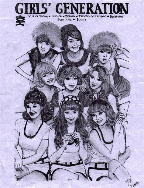 sketchbook snsd kwon yuri yurisistables images snsd hoot sketch hd