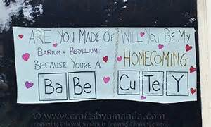 creative ways to ask a date to homecoming or prom crafts