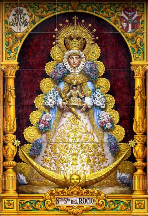 imagenes de la virgen de guadalupe en azulejo m 225 s de 25 ideas fant 225 sticas sobre virgen del rocio en