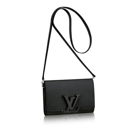 Soft Jacket Black With Leather Branded Louis Vuitton 1 louis vuitton louise pm in black noir lyst