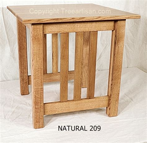 mission accent table mission craftsman quarter sawn oak accent end table