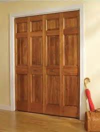 Wooden Bifold Closet Doors Bifold Wood Closet Doors Home Sweet Home