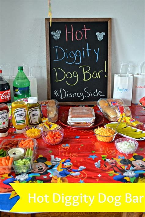 hot bar themes mickey mouse disneyside party mickey mouse parties