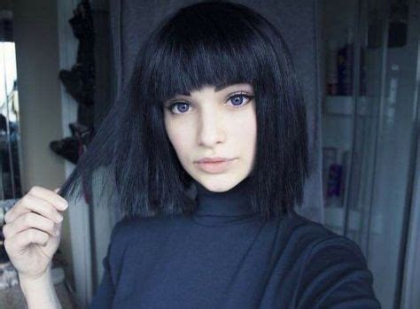old goth bangs hairstyle 17 best ideas about grunge bob on pinterest pink short