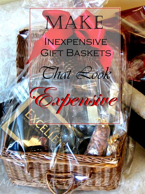 expensive christmas gift ideas make inexpensive gift baskets that look expensive