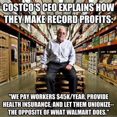 costco an exle of the union difference the united