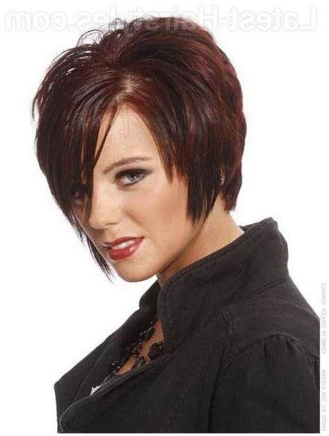 pictures of short hairstyles for plus size women over 40