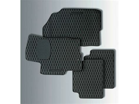 mazda mazda  genuine oem  weather floor mats set   ebay