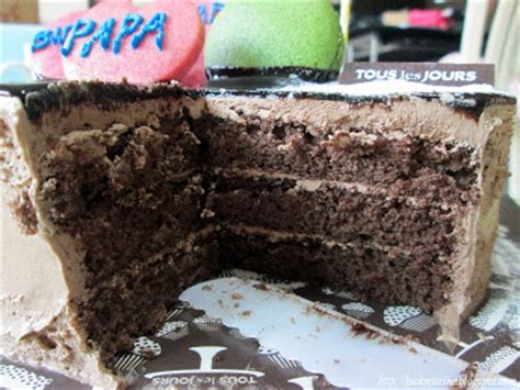 Tous Les Jours Real Ganache lucky citrine tous les jours glaze chocolate cake