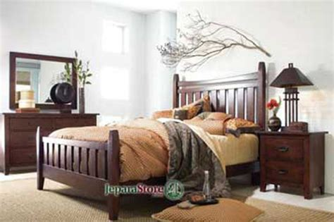 Tempat Tidur Kayu Jati Bekasi tempat tidur minimalis bekasi jeparastore