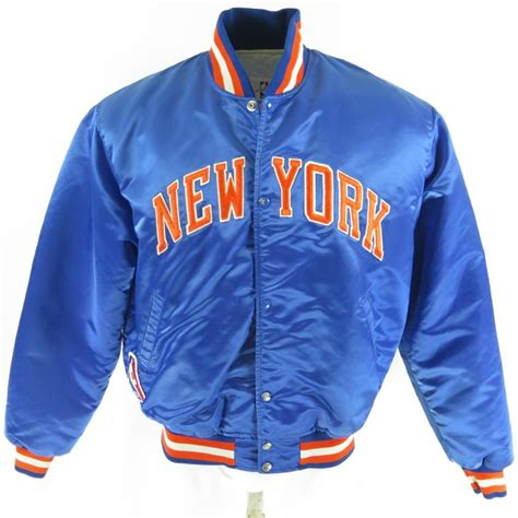 Sweater Basket Nba New York Knicks Biru vintage 80s starter nba basketball new york knicks jacket xl the clothing vault