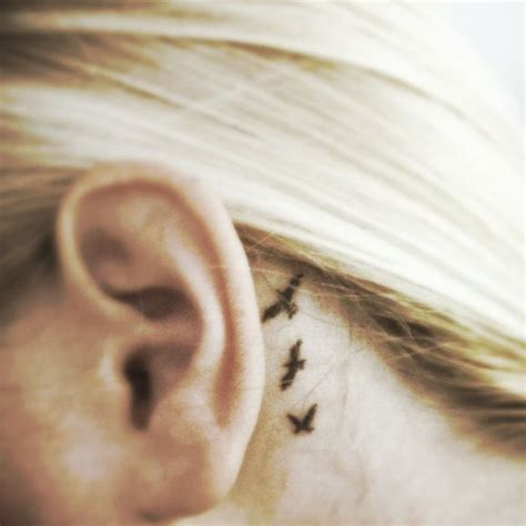 cute small tattoos behind the ear best 25 ear tattoos ideas on ear